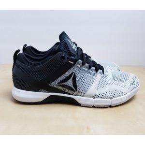 Reebok Crossfit Trainers Sneaker Gray & Black Sz 8